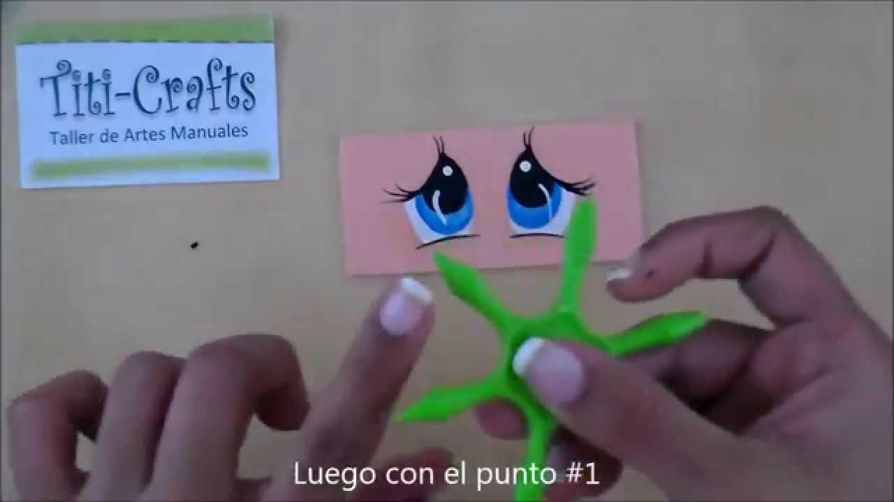 Plantillas para ojos de fofuchas c mo usarlas youtube - Plantillas para dibujar en la pared ...