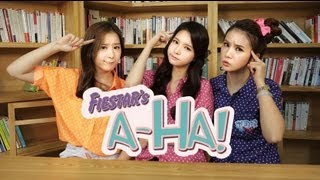 FIESTAR(피에스타)'s A-HA!_Lesson 7. 'MenBung(멘붕)'  [ENG/JPN/CHN SUB]