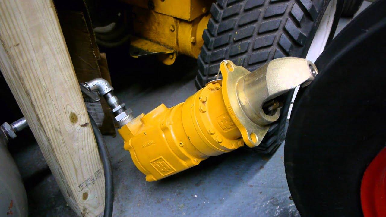 medium resolution of testing a brand new ingersoll rand 150bmpd vane type air starter