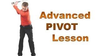 Golf Swing Pivot Explained - Side Bend, Forward Bend, Rotation