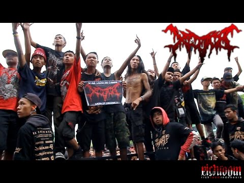 XTAB - SUSAH SENANG KUDU BABARENGAN (official video) DEATH METAL