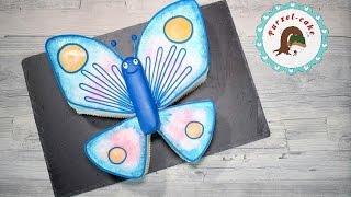Schmetterlingstorte/ Kindergeburstagstorte/ Motivtorten/von Purzel-cake