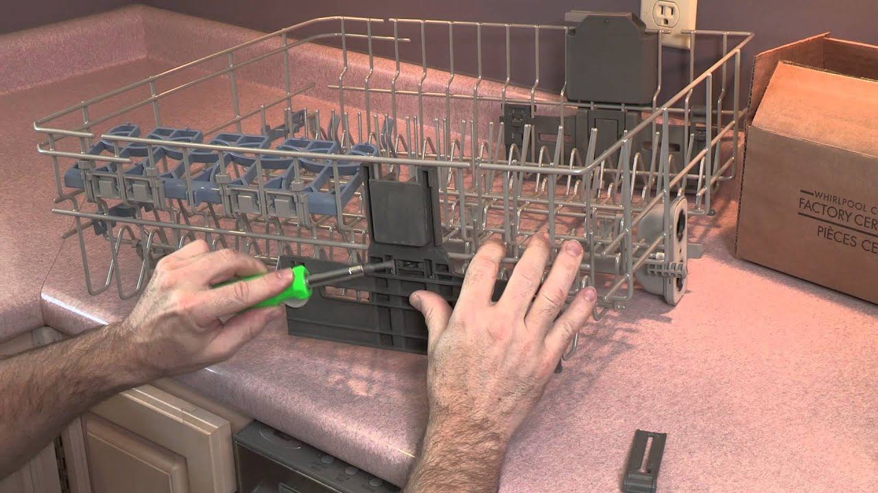 Whirlpool Dishwasher Rack Adjustment Replacement Kit