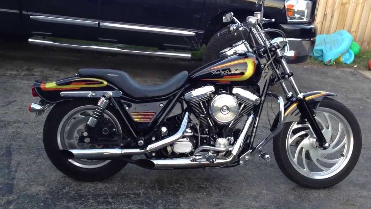 1992 Harley Davidson Fxr For Sale