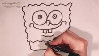 ვისწავლოთ spangebob ის ხატვა magic brush თან ერთად