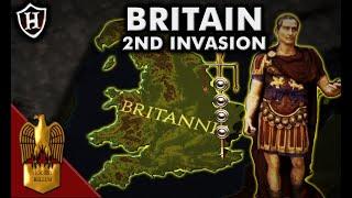 Caesar Second Invasion Of Britain 54 BC