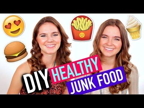 DIY Healthy Junkfood with Nina and Randa!
