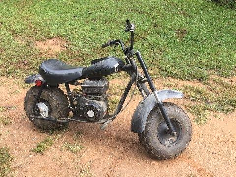 baja mini bike part 1