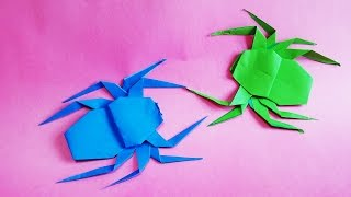 거미 종이접기 How to Make Paper Origami spider man