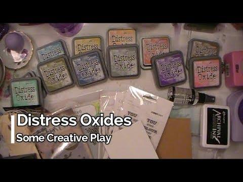 Distress Oxides Creative Play