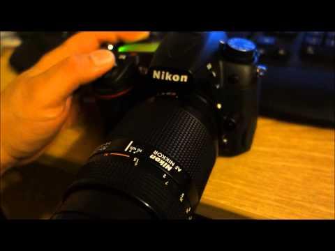 Autofocus motor comparison Nikon D7000 vs. D600