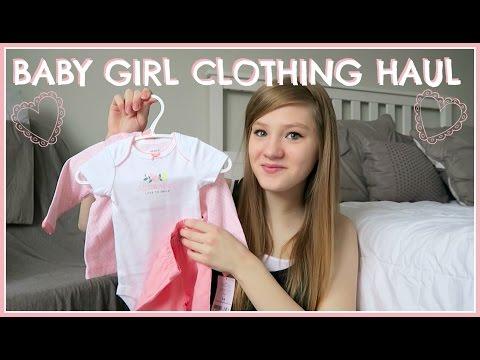 Baby Girl Clothing Haul!