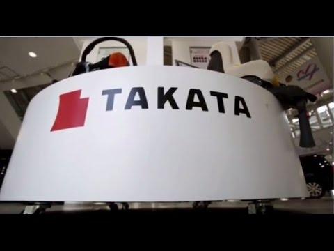 <エアバッグ問題>タカタの高田会長が初の記者会見 Chairperson Takada of TAKATA is the first press conference.