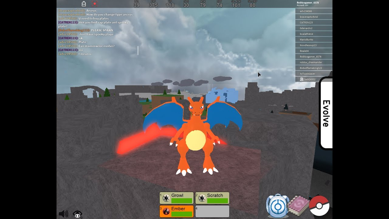 how to catch pokemon in pokemon fighters ex roblox