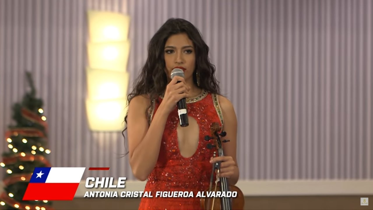 Chile, Antonia Figueroa - Top 10 Talent: Miss World 2016