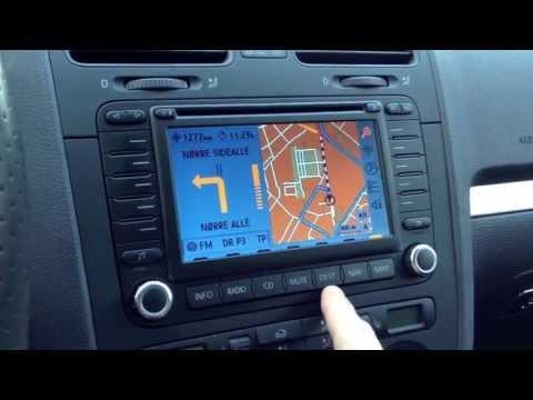 Aux en adaptador cable para VW AUDI mfd2 rns2 de navegación GPS Navi iPhone mp3 radio