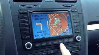 VW MFD2 DVD