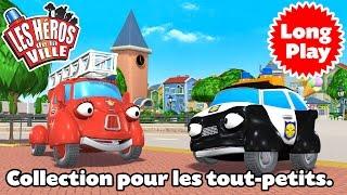 Les Héros de la Ville – Compilation 01 – Dessin animé pour la maternelle.