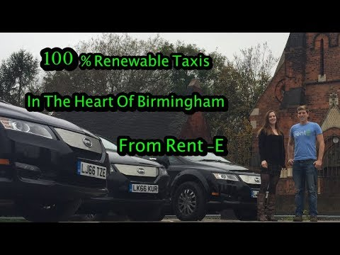Taxis Are Changing - Rent E, BYD E6 And 100% Renewable Energ