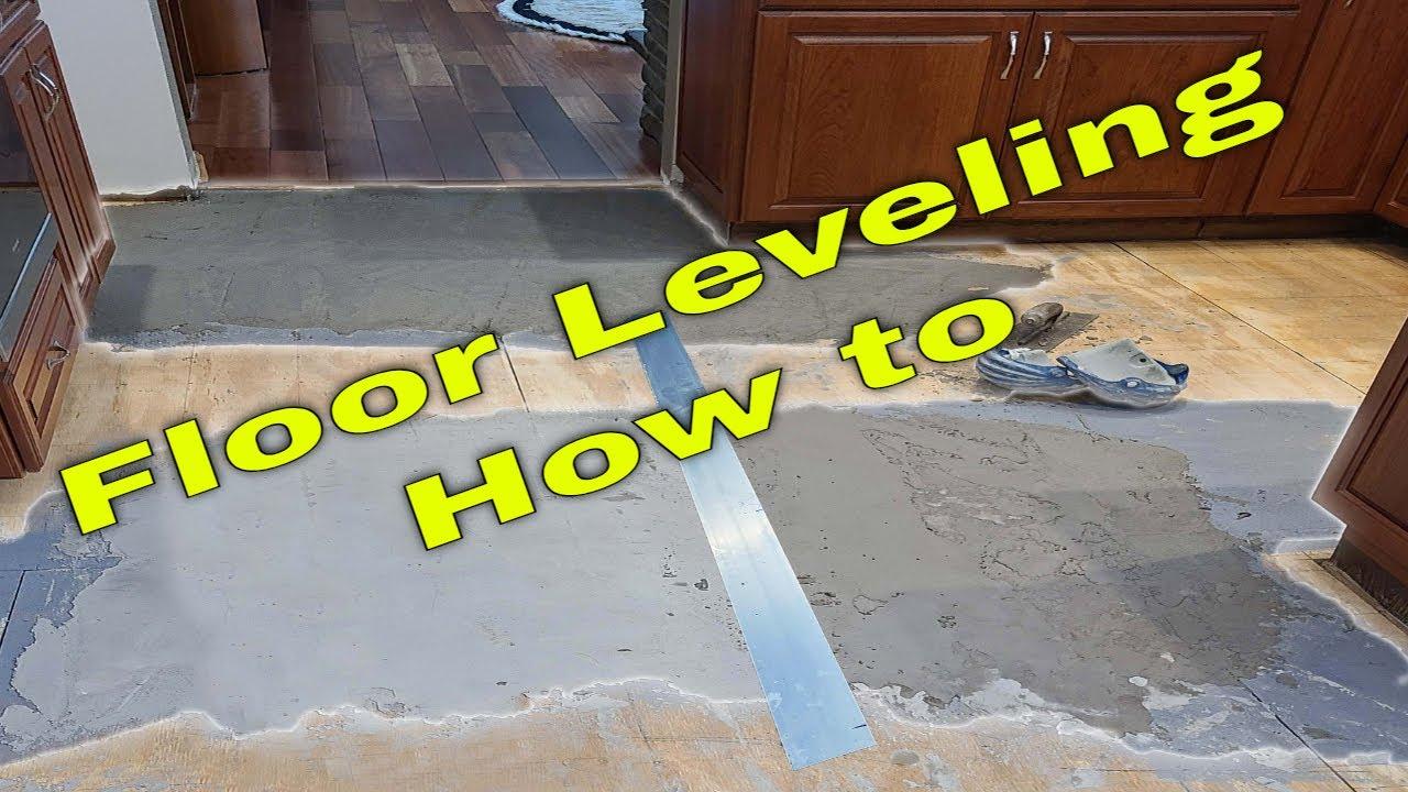 how to tile a large basement floor part