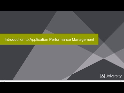 Introduction to APM