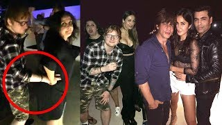 ed-sheeran-s-wild-bollywood-party-2017-inside-leaked---shahrukh-katrina-deepika