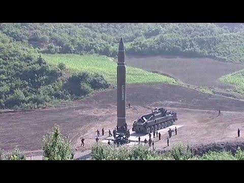 Corea del Norte lanza un misil balístico que sobrevoló Japón