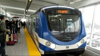 TransLink Canada Line Skytrain - YVR-Airport to Waterfront