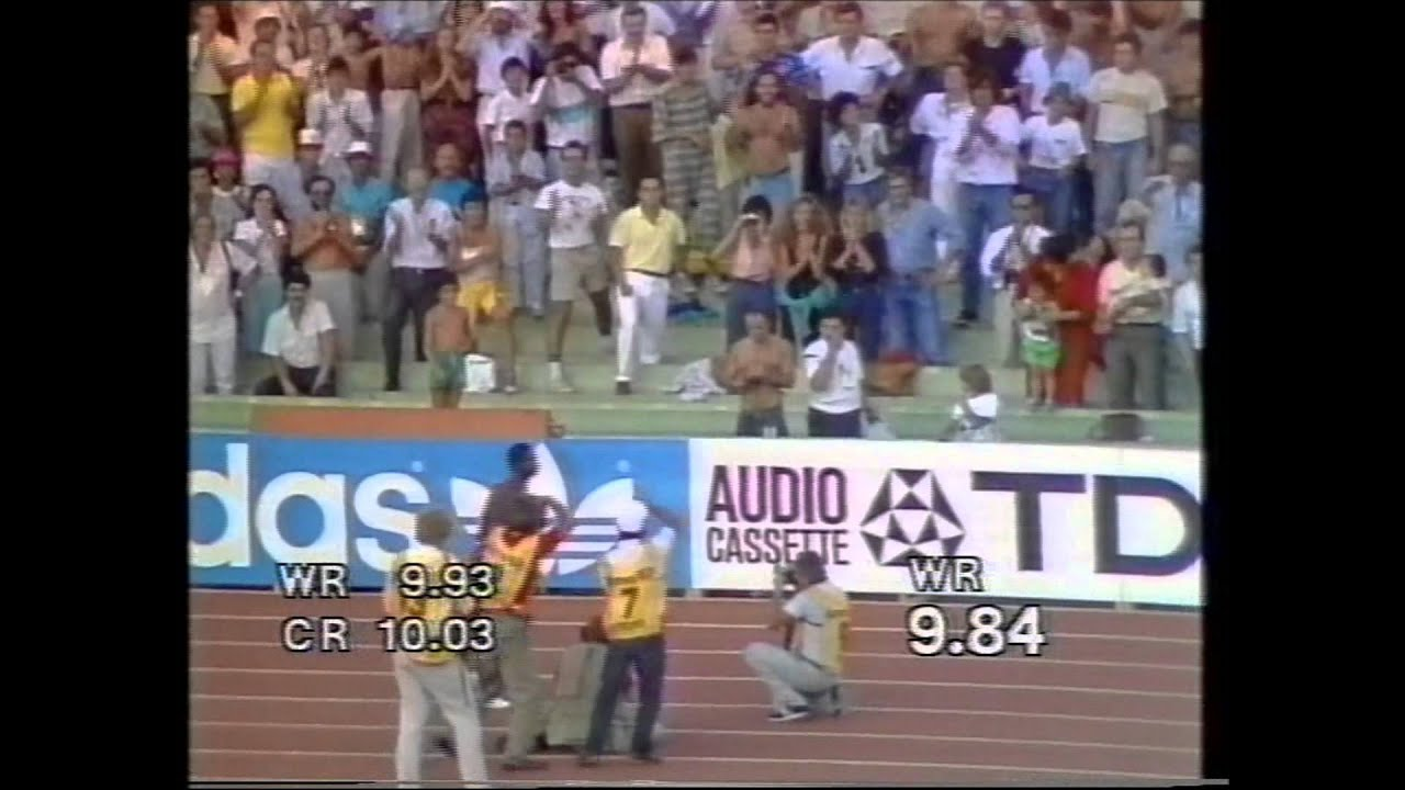 BEN JOHNSON      [ROME 1987, Studio Sport]