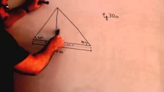 Tangente en trigonometria Matematicas 4º ESO Academia Usero Estepona