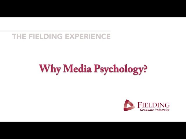 Why #MediaPsychology? - Regina Tuma, PhD