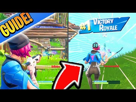 PS4/XBOX Fortnite GUIDE To WIN! How to Win in Fortnite EASY! (How to get Better/Improve in Fortnite)