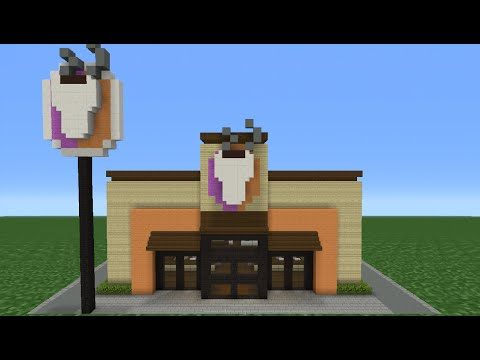 Minecraft Tutorial: How To Make A Dunkin
