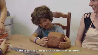 Pierre & Vacances   Activité - Apprenez à modeler l'argile dans l'atelier de Katia