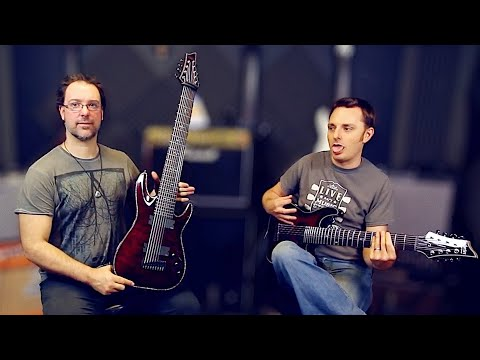 7 Vs 8 Vs 9 String Challenge With Schecter Guitars