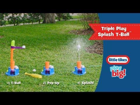 Little Tikes | Triple Play Splash T-Ball | Commercial