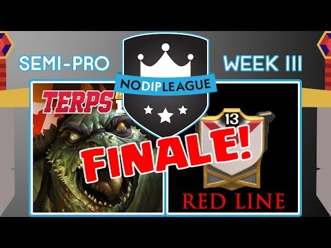 Terp Win B1G VS Red Line WAR FINALE! - No Dip League - Clash of Clans