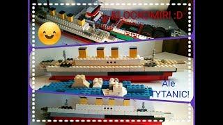 LEGO *TITANIC* MOC!!! :O