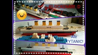 LEGO MINECRAFT TITANIC MOC!!! :O