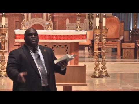 Deacon Harold Burke-Sivers Talk 1 - Video 2 of 3