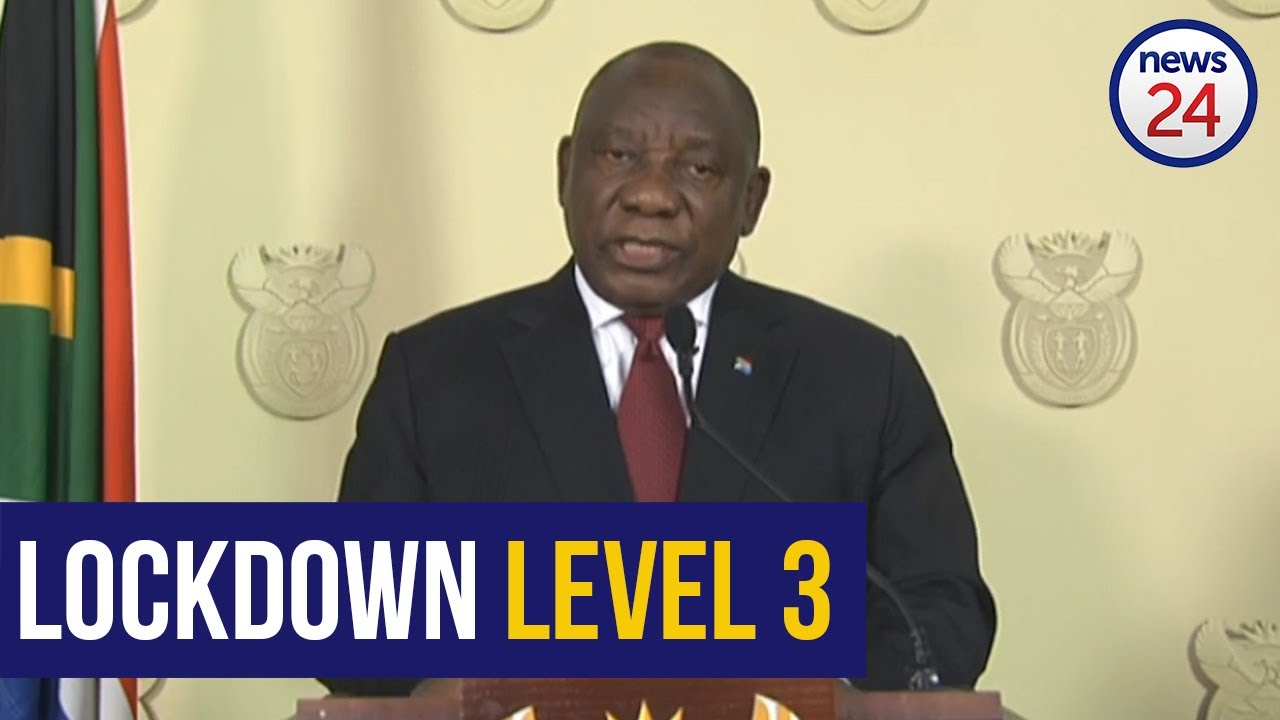 WATCH | Most of SA can prepare for Level 3 lockdown at the end of May - Ramaphosa - News24