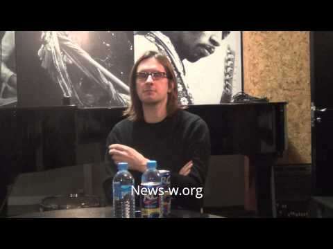 Steven Wilson - Moscow press conference 14.02.2016