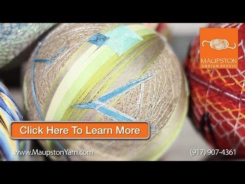 Hand Spinning | Handspun Yarn New York | Art Yarn | Knitting and Spinning | Maupston Design Studio