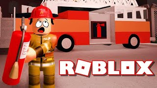 🍜PŘIPÁLENÝ RAMEN V KUCHYNI!! 🍜 ROBLOX FIREFIGHTER SIMULATOR