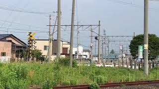 弘南鉄道弘南線7000形7021F普通弘前行き第26列車弘前東高前発車