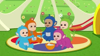 Tiddlytubbies NEW Season 2! ★ Episode 8: BUBBLE RIDE! ★ Teletubbies Babies ★ Cartoons