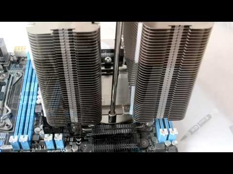 Tutorial Instalacion Noctua NH-D14 SE 2011 en Board Asus LGA 2011 e Intel Xeon E5