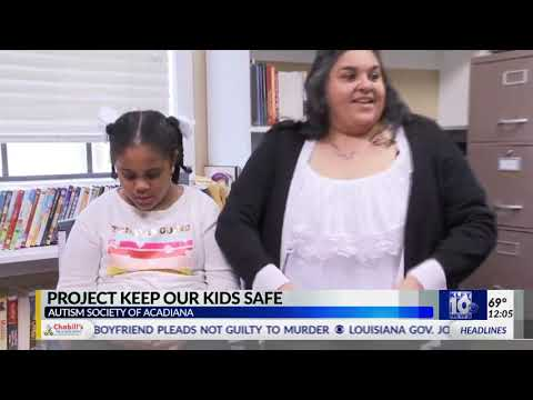 KLFY10: Autism Society of Acadiana Launches AngelSense GPS Program