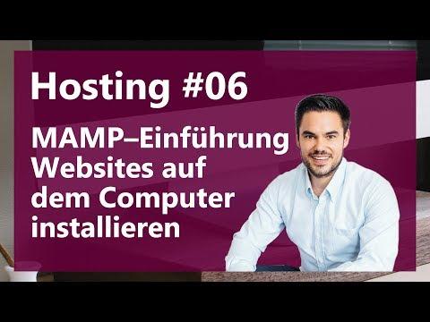 Mit MAMP kostenlos Websites hosten auf dem Computer / Hosting #06