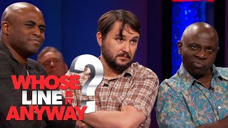 Now Girls Really Don't Talk To Us! | Whose Line Is It Anyway?